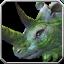 Grassland-Rhinozeros-Reittier Icon