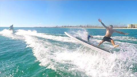 One Cracked Rib & One Broken Finger - Double Surfing!!
