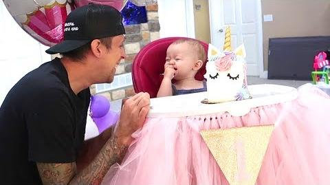 Happy 1st Birthday Cora