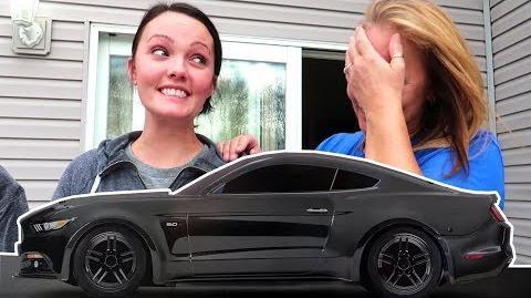 SHE GOT HER DREAM CAR!!