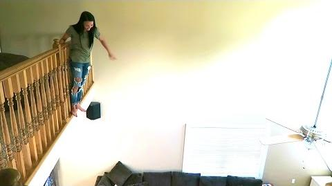 I MADE HER JUMP!!