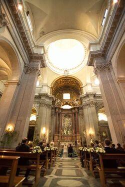 San Giovanni dei Fiorentini interior