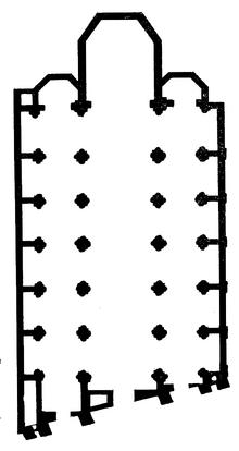 Sacro Cuore del Suffragio floor plan