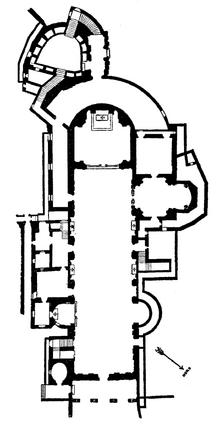 San Sebastiano Fuori le Mura floorplan
