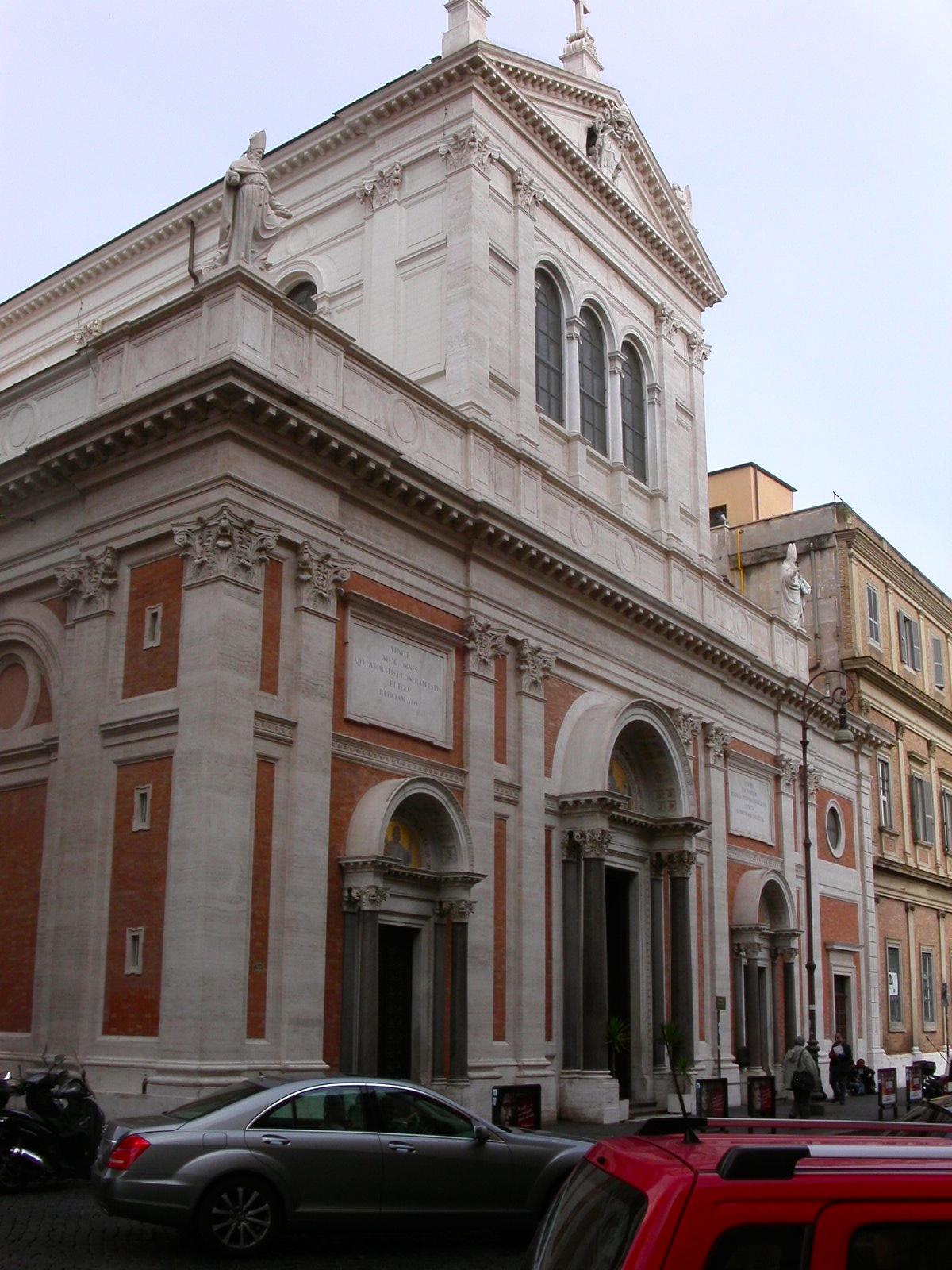 Sacro Cuore di Gesù a Castro Pretorio | Churches of Rome ...
