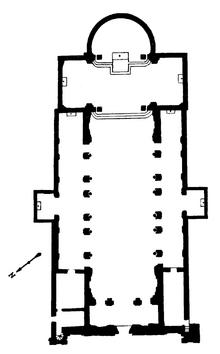 Sant'Anastasia floor plan