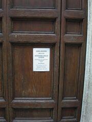 Biagio della Pagnotta -notice