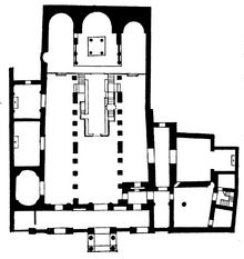 Santa Maria in Cosmedin floor plan