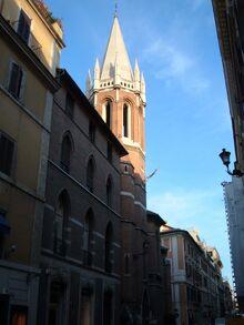Campo Marzio - All Saints' Church 3