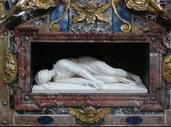 Santa Cecilia in Trastevere tomb