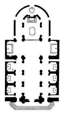 Santi Ambrogio e Carlo al Corso floor plan