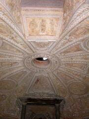 2011 Tempietto lower ceiling