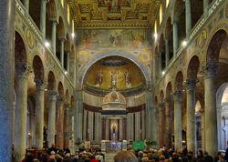 Sant'Agnese fuori le mura interior