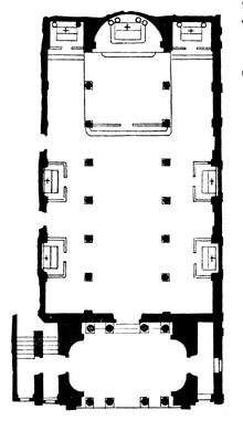 Santa Maria in Via Lata floor plan