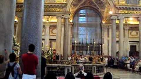 Santa Maria Maggiore Feast of Our Lady of Snows August 5