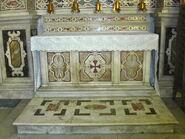 2011 Ambrogio, right transept altar frontal