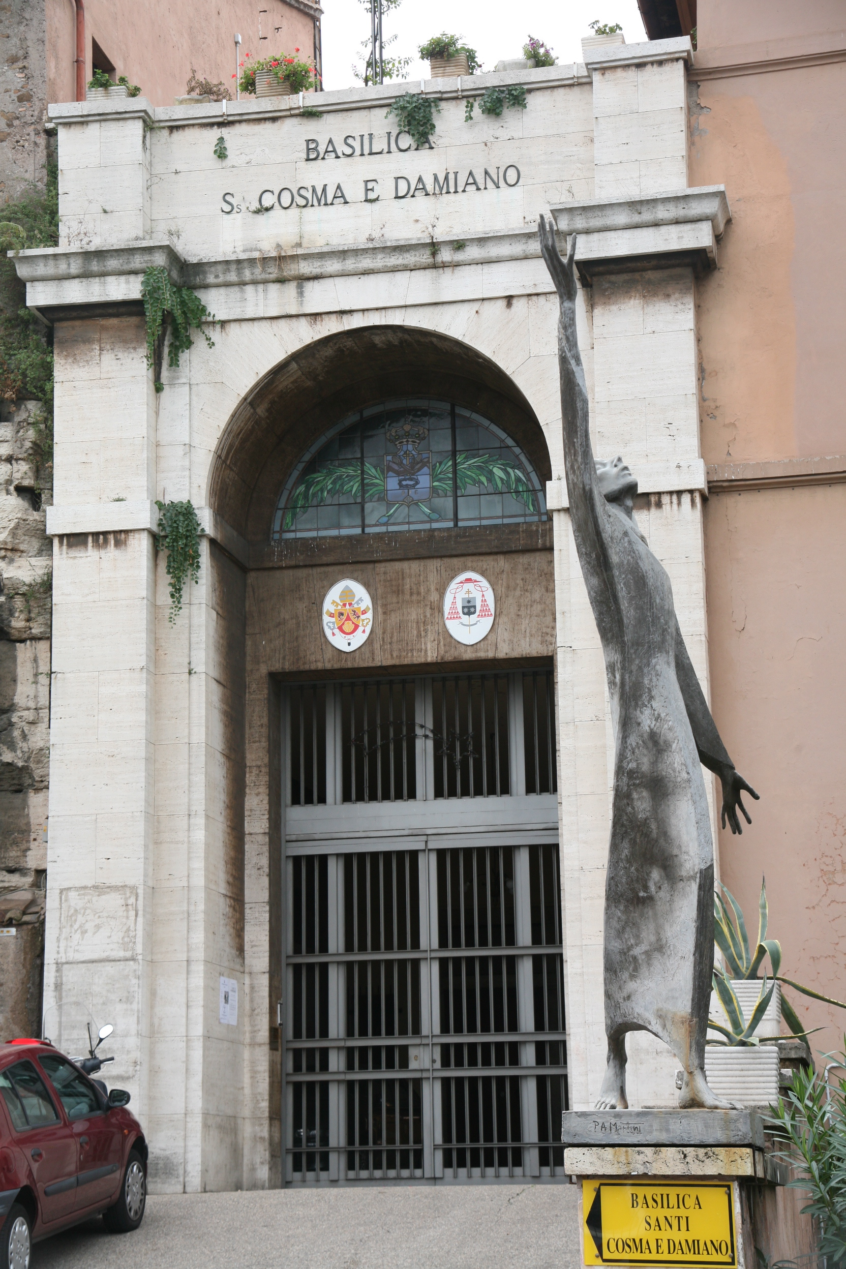 Santi Cosma e Damiano | Churches of Rome Wiki | FANDOM powered by Wikia