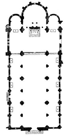 Santa Teresa al Corso d'Italia floor plan