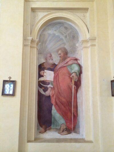 S. Andrea del Vignola - Fresco - St. Paul