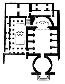 Santi Cosma e Damiano floor plan