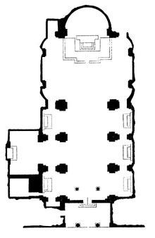 Sant'Eustachio floor plan