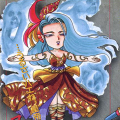 Rocbouquet's art from the Romancing SaGa 2 game guide