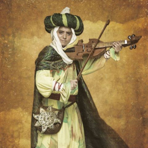 Bard(played by Surugu Tanaka) in <i>Romancing SaGa the Stage: The Day Roanne Burned</i>