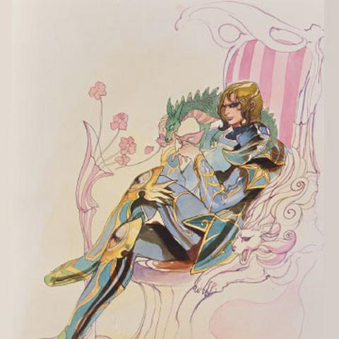 Tomomi Kobayashi's artwork of Ludwig
