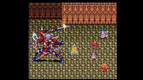 Romancing Saga 2 Battle With Noel 2nd Form Before Rocbouquet