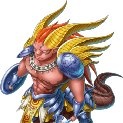 Awoken Dantarg from the Heaven Strike Rivals x Romancing SaGa 2 collaboration event