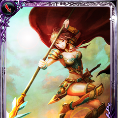 Artwork of Victoria in Imperial SaGa.