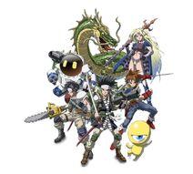 SaGa Characters