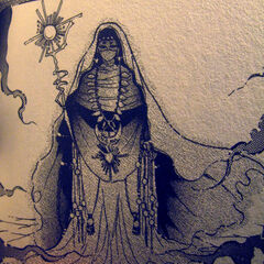 Oaive the Seer as depicted in the Romancing SaGa 2 manga