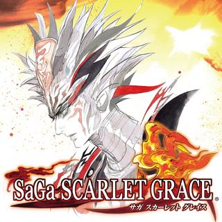 SaGa Scarlet Grace for PlayStation store (JP).