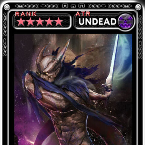 Kzinssie's art from Square Enix's mobile TCG: Guardian Cross