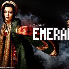 Emerald (played by Ranko Hamaguchi)