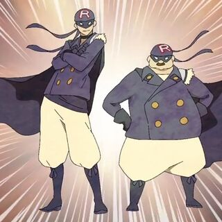 Robin and Fat Robin from the Imperial SaGa animated PV <i>Kaiketsu Robin no Tēma</i>