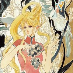 Tomomi Kobayashi's art of Byunei for the Re:Birth II Romancing SaGa Battle Arrange album