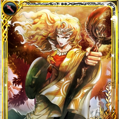 Artwork of Jeanne from imperial SaGa.