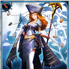 Artwork of Opal in Imperial SaGa.