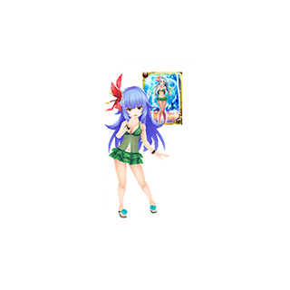 Swimsuit Rocbouquet from the Rise of Mana x SaGa series collaboration event