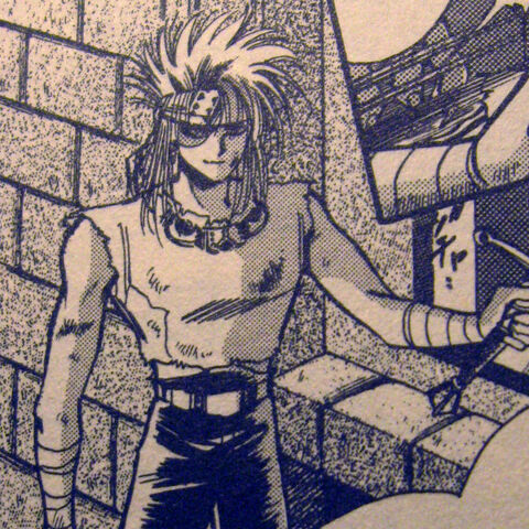 Hector as depicted in the Romancing SaGa 2 manga