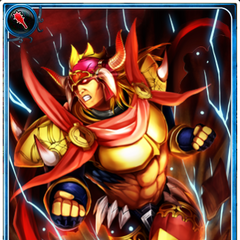 Artwork of Dantarg in Imperial SaGa.