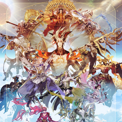 Artwork of the Twelve Star Gods by <a class=