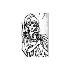 Rocbouquet (human) without armor; from the Romancing SaGa 2 manga