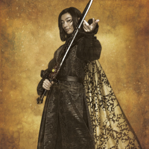 Ludwig (played by Shinichi Wagō) in <i>Romancing SaGa the Stage: The Day Roanne Burned</i>