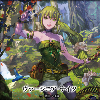 Ginny's appearance for Square Enix's online collectible card game: Lord of Vermilion Arena