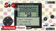 Sa・Ga COLLECTION Nintendo Direct mini ソフトメーカーラインナップ 2020