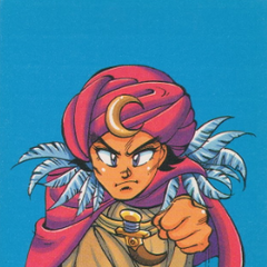 Front side of the Famicom data card for the desert guard