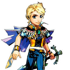 Albert in <i>Romancing SaGa: Minstrel Song</i>